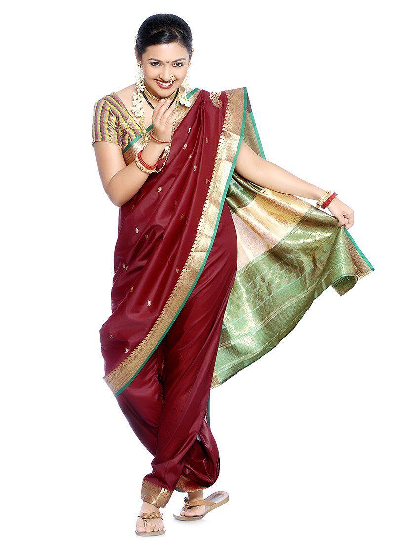 maharashtrian saree pics