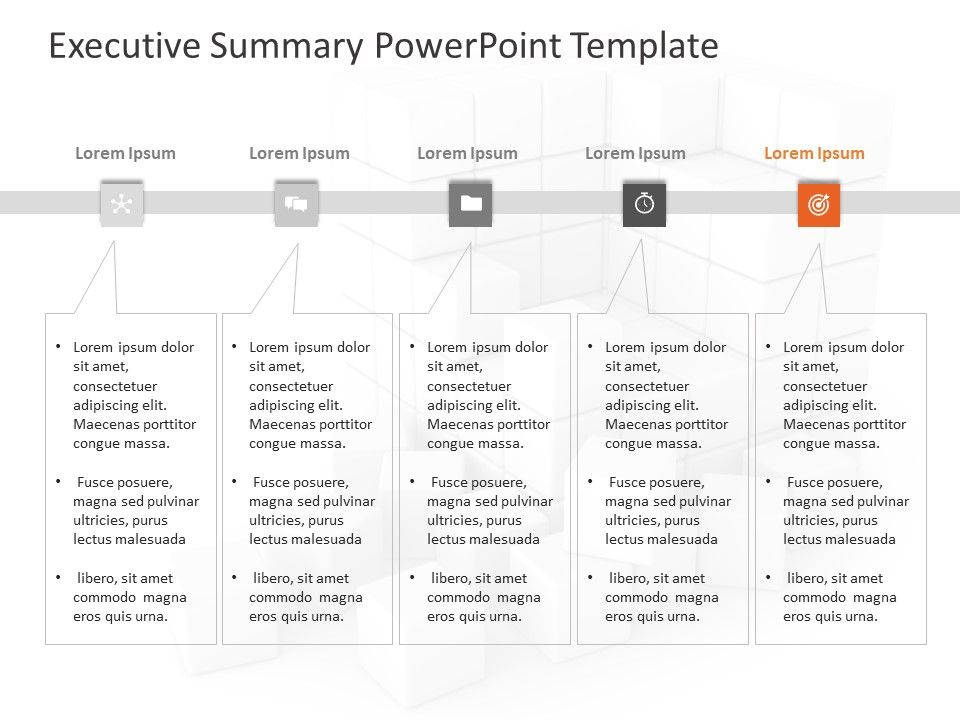 Executive Summary PowerPoint Powerpoint templates