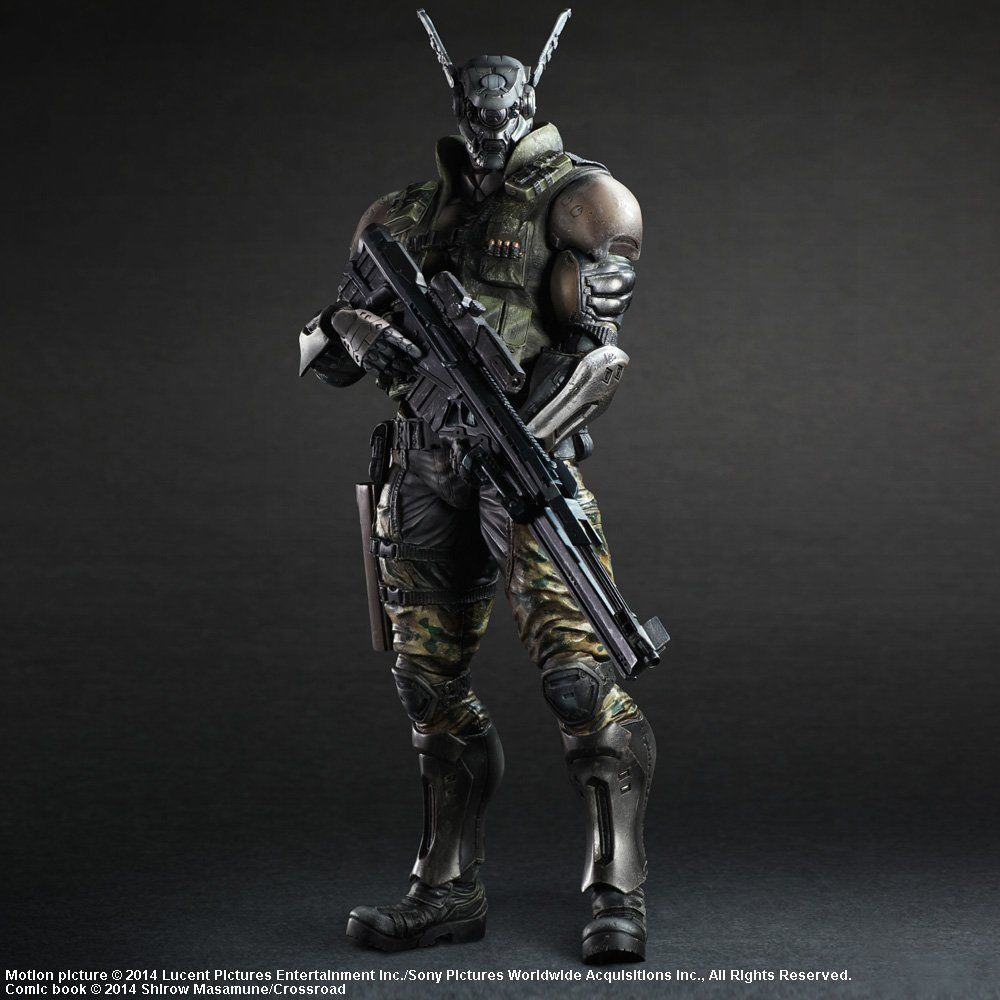 Appleseed Character Design : Square enix appleseed alpha play arts kai briareos figure
