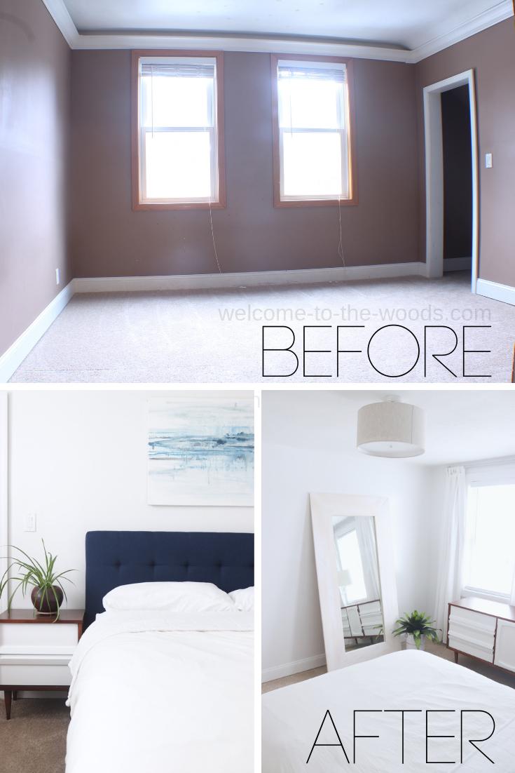 Minimalist Master Bedroom Makeover Master Bedroom Makeover Bedroom Makeover Before And After Bedroom Makeover