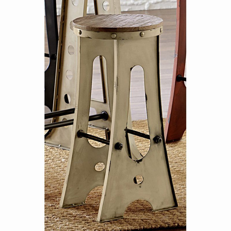 Progressive Furniture A-Frame Forge 30 in. Zen Bar Stool - D848-66 ...