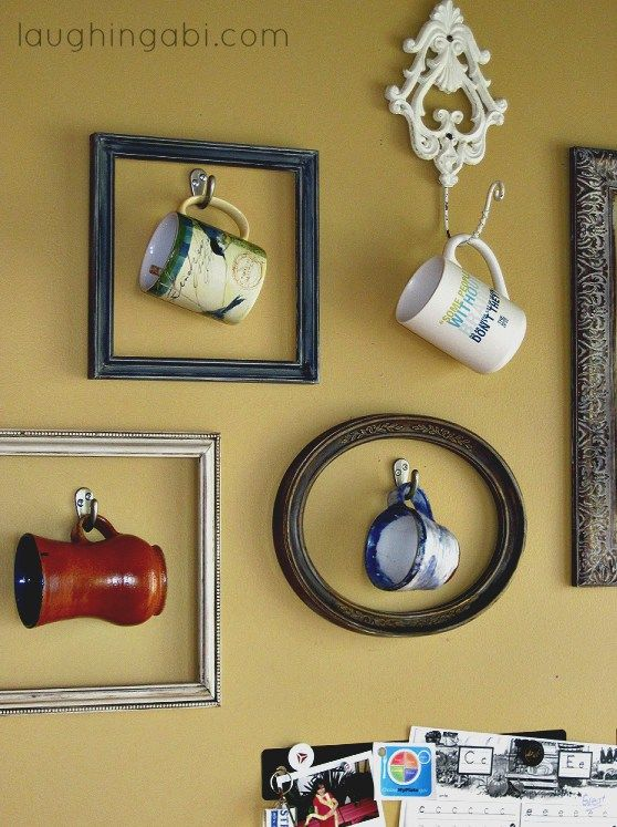 16 Ways To Transform Coffee Mugs Into DIY Decor