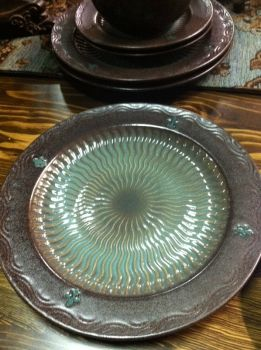 Turquoise Dishes Tuscan Dinnerware Rustic Dishes Western Dishes Western Dinn & Turquoise Dishes Tuscan Dinnerware Rustic Dishes Western Dishes ...