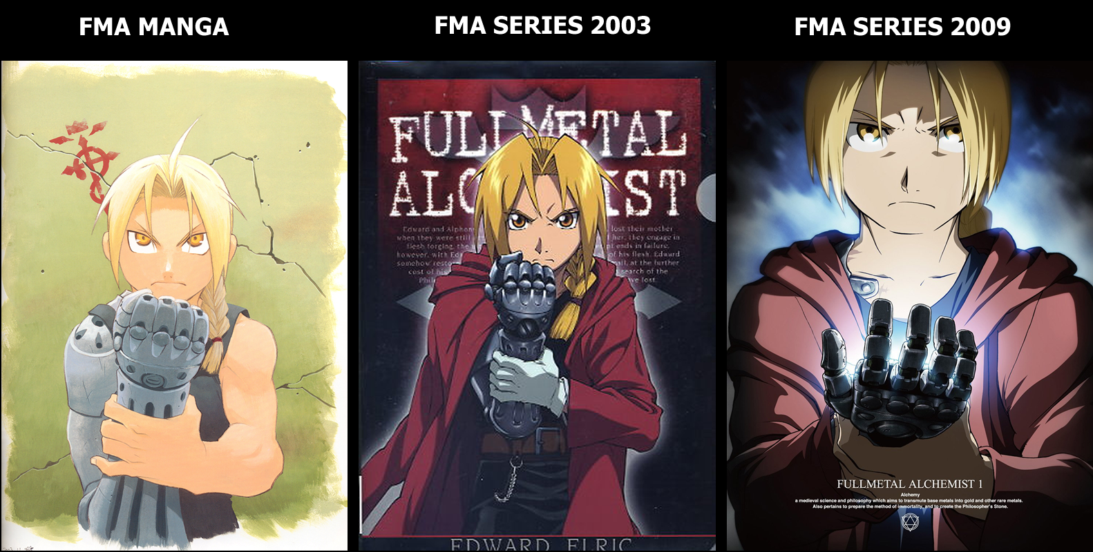 Fma manga vs fma 2003 vs fma 2009 3 by joaocouto deviantart com on deviantart