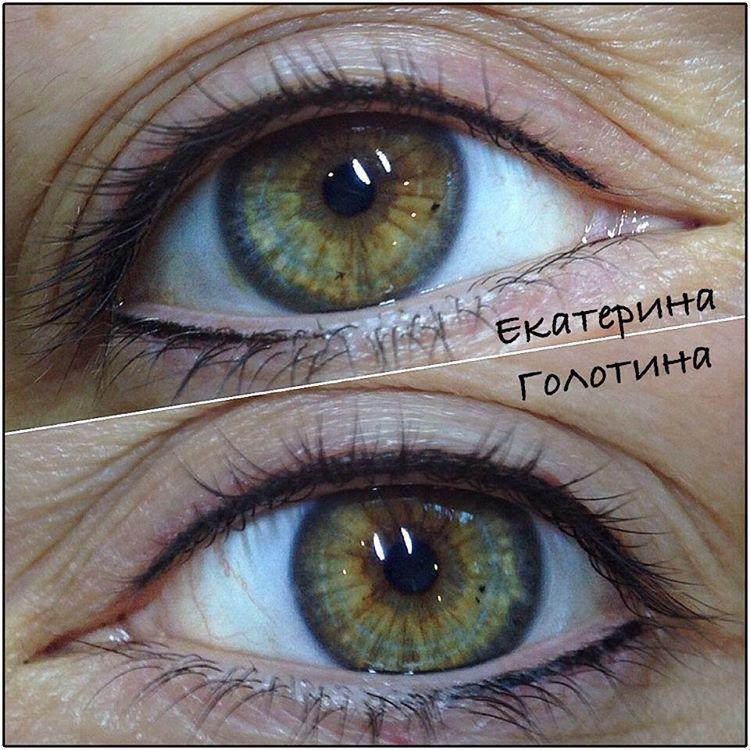 Pin by Инга Бабицкая on Перманентный макияж глаз