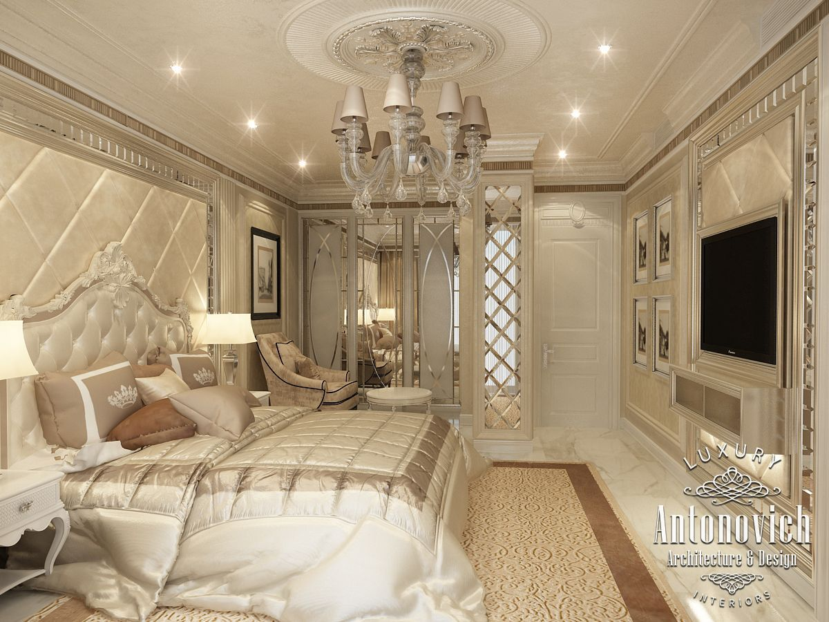 Luxury antonovich design uae master bedroom from katrina antonovich
