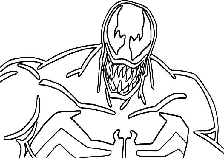 carnage coloring pages Venom and Carnage Coloring Pages | New Coloring Pages | Coloring  carnage coloring pages