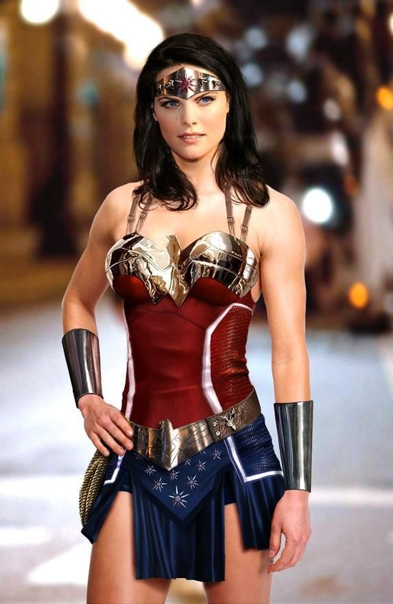 Wonder Woman! (I know in my heart of hearts this can't happen because of contract issues - but I so love it.)