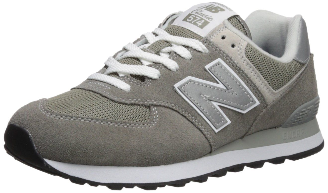 New Balance Mens Iconic 574 Sneaker Grey 6.5 4E US ** Want