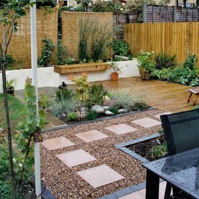 Decora el hogar decora el jard n con piedras jardines for Modelos de patios y jardines