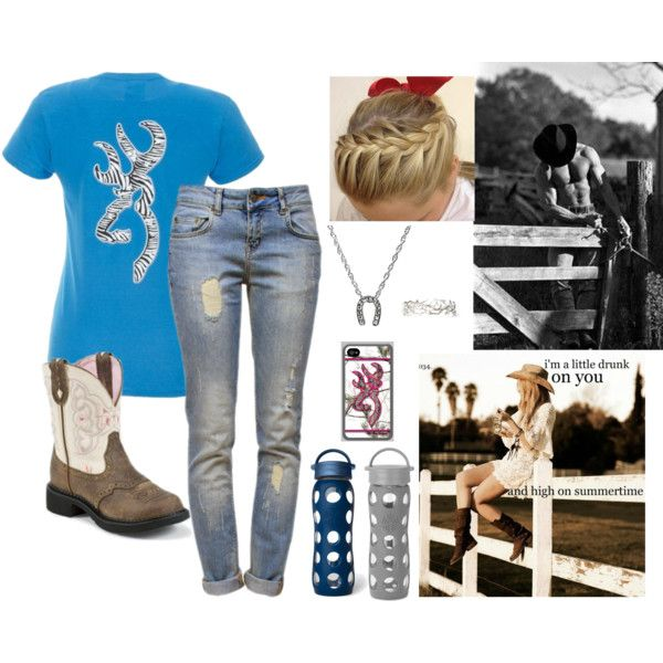 Country Girl Outfit... I'll leave the guy though Lol