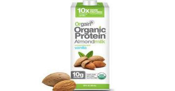 Walmart Orgain Organic Almond Milk Just 2 48 W Printable Coupon Organic Almond Milk Casein Protein Recipes Milk Coupons