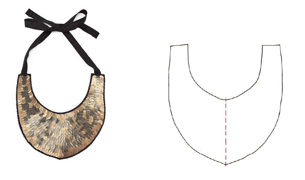 Derretales: Top 6 patrones collar babero descargables | necklace ...