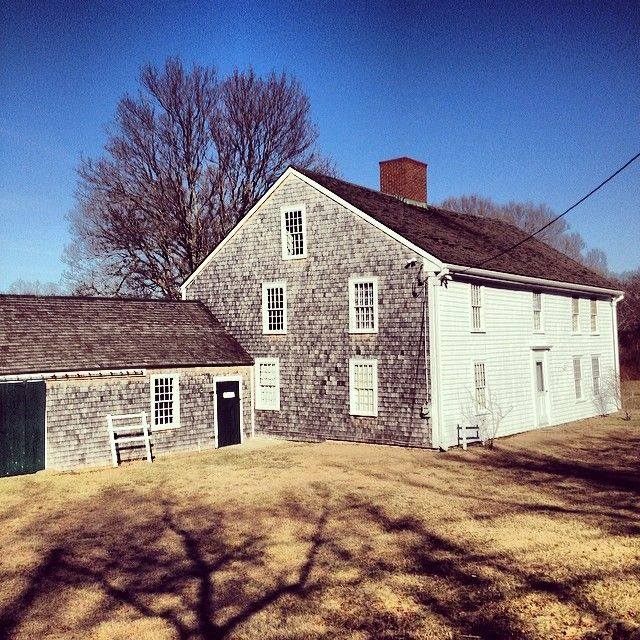 Best Place To Stay On Cape Cod: Wing Fort House, Sandwich, MA (1641) Photo Credit: Alyssa