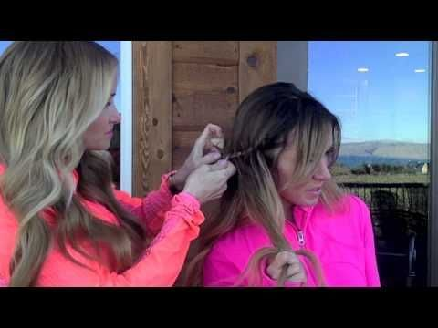 easy, no heat hairstyles, spring hair, easy and quick hairstyles, braids, best dry shampoo, best of 2018, best hair products, easy tutorial for no heat hair, half up top knot tutorial, bubble braids, bubble braid tutorial, head wrap tutorial, trendy hairstyles