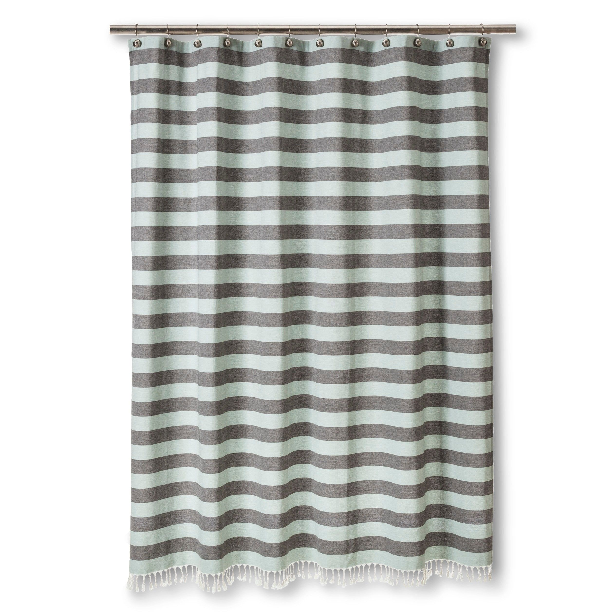 Nate Berkus Yd Stripe Shower Curtain Target Striped Shower