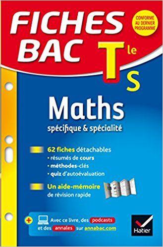 Fiches Bac Maths Tle S Specifique Specialite Fiches De