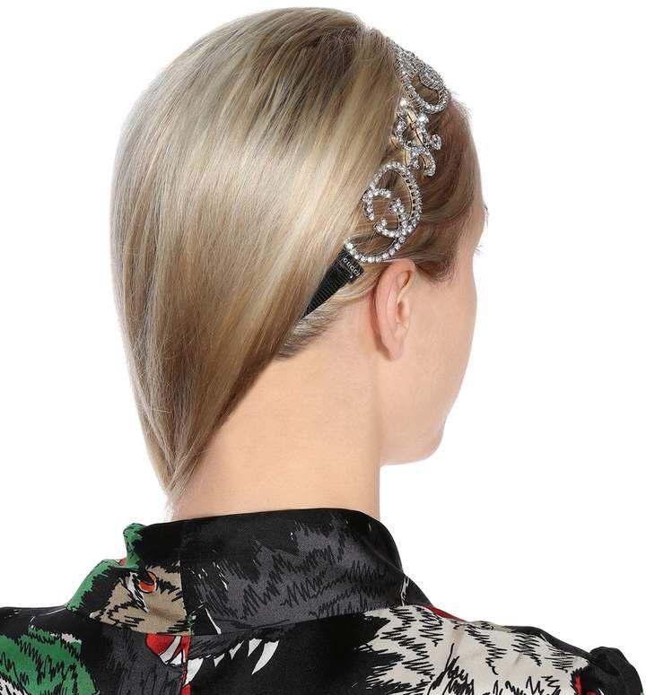 0dccfad0272 Gucci Crystal-embellished headband