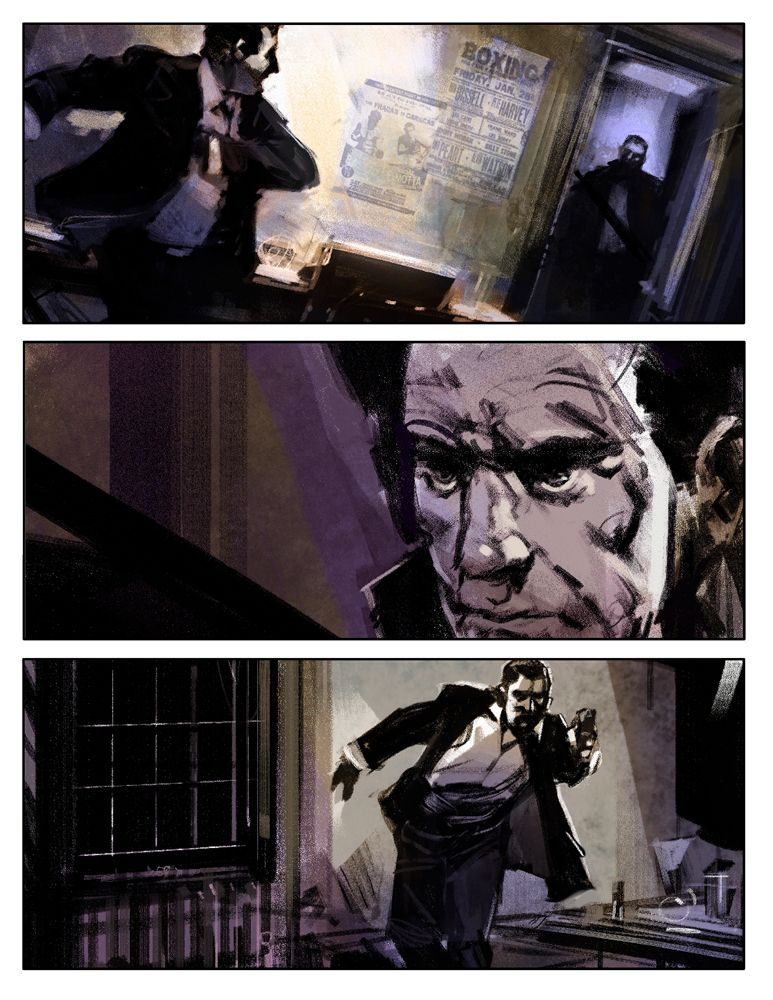 Dan Milligan Illustration Ltd Film \ Game Samples Dan Milligan - sample script storyboard
