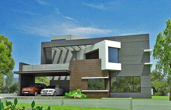 Modern house design by ahmad riaz associate 1 kanal house
