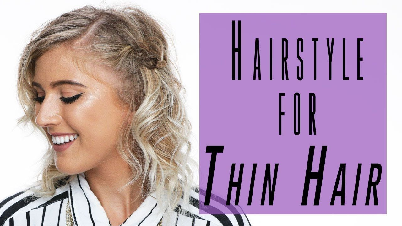Easy hairstyle tutorial for thin hair ipsy mane event beauty