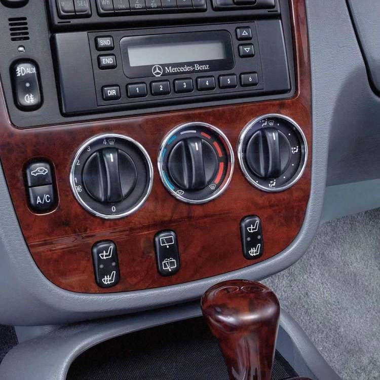 mercedes ml430 and ml320 control trim rings 1998 2001 my car climate control ford ranger cars. Black Bedroom Furniture Sets. Home Design Ideas
