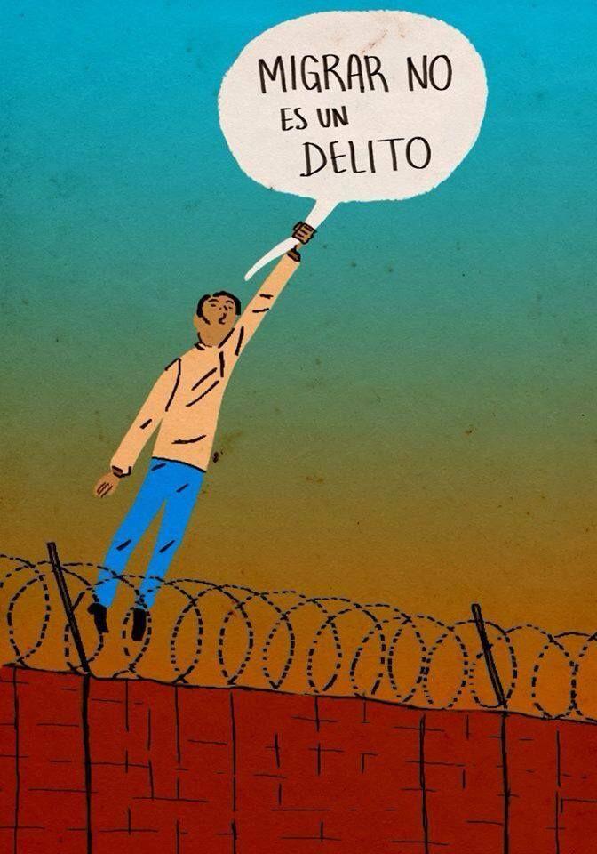 Dibujos De Los Migrantes