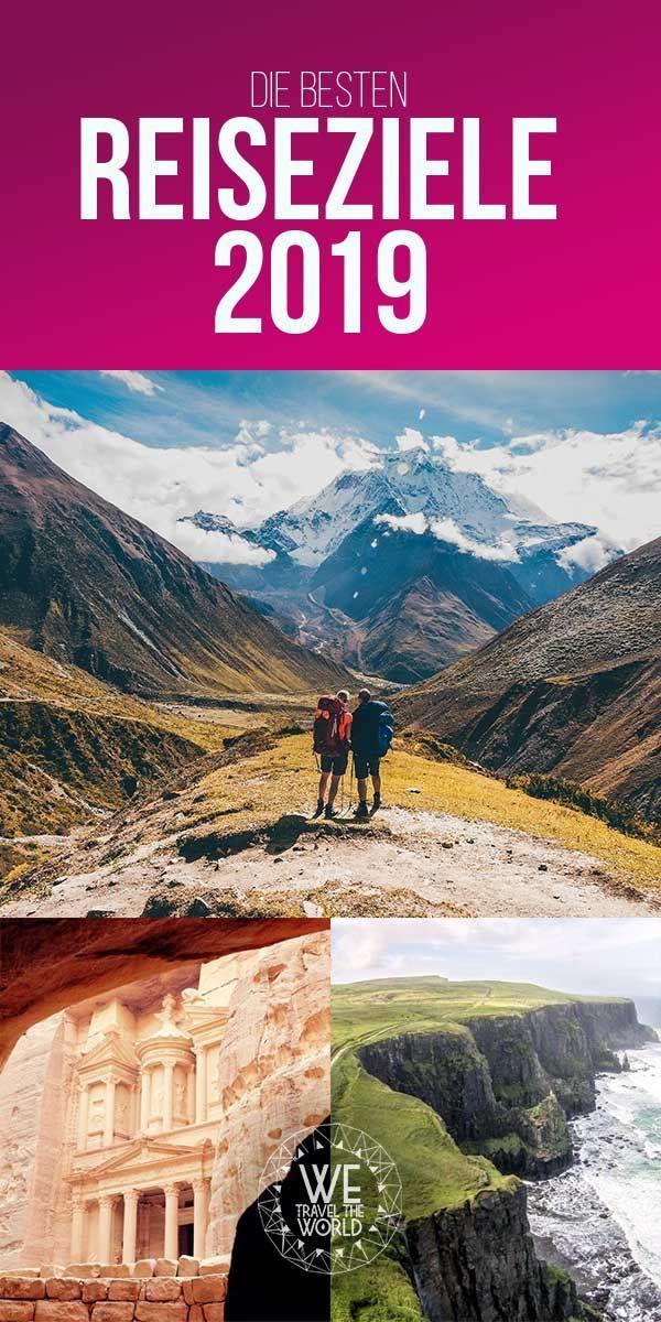Reisetipps 2019: 25 Reiseziele, die 2019 auf deiner Bucket List stehen sollten #vacationdestinations