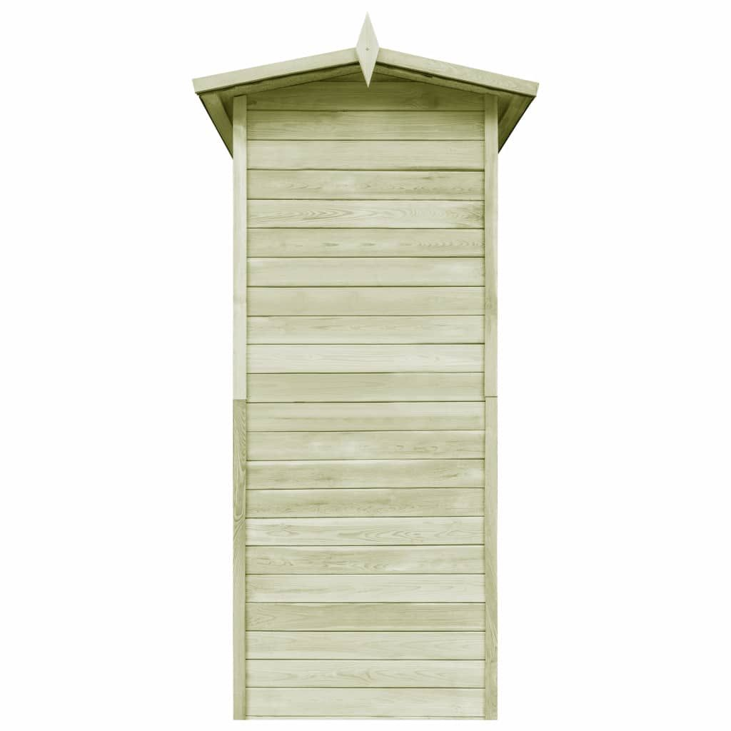 Garden shed 100x100x210 cm impregnated pinewood
