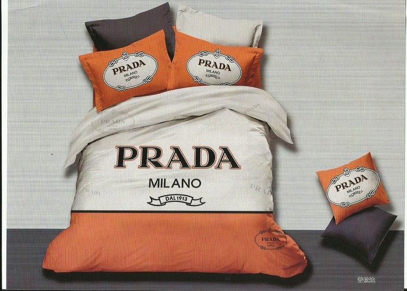 prada bettw sche g nstig billig gut preiswert king size baumwolle bed set 6 teilig unbedingt. Black Bedroom Furniture Sets. Home Design Ideas
