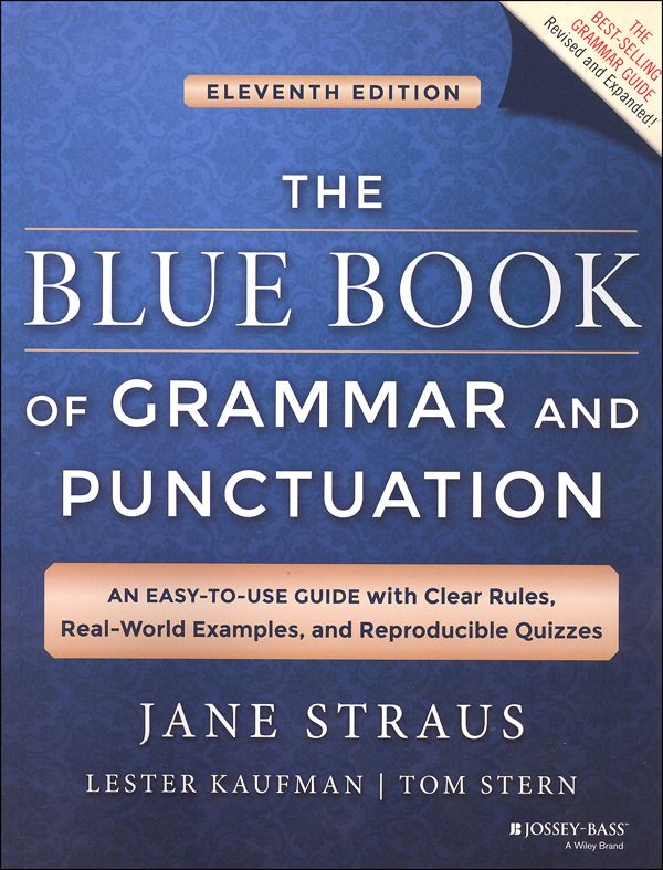 Blue Book Of Grammar And Punctuation (11th Edition) Punctuation   Salutation  Punctuation  Salutation Punctuation
