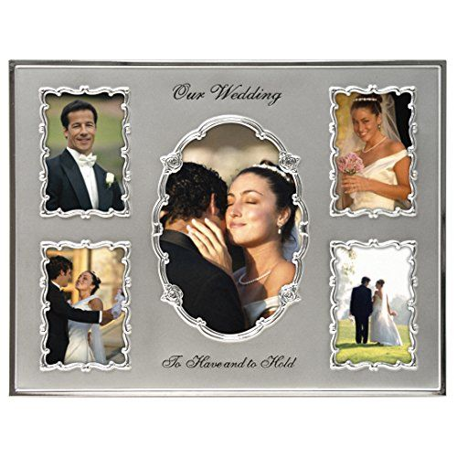 Malden International Designs Our Wedding Two Tone Collage Picture ...