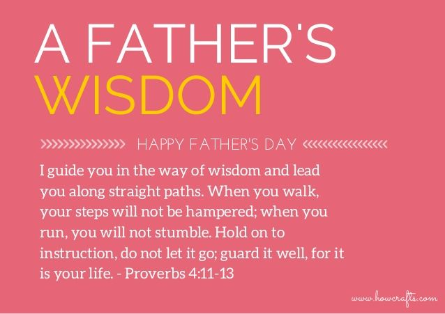 Image Result For Fathers Day Bible Quotes Fathers Day Bible