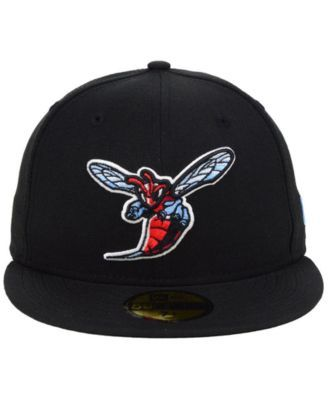 save off 69d6b b22e6 New Era Delaware State Hornets Ac 59FIFTY-fitted Cap - Black 7 1 8