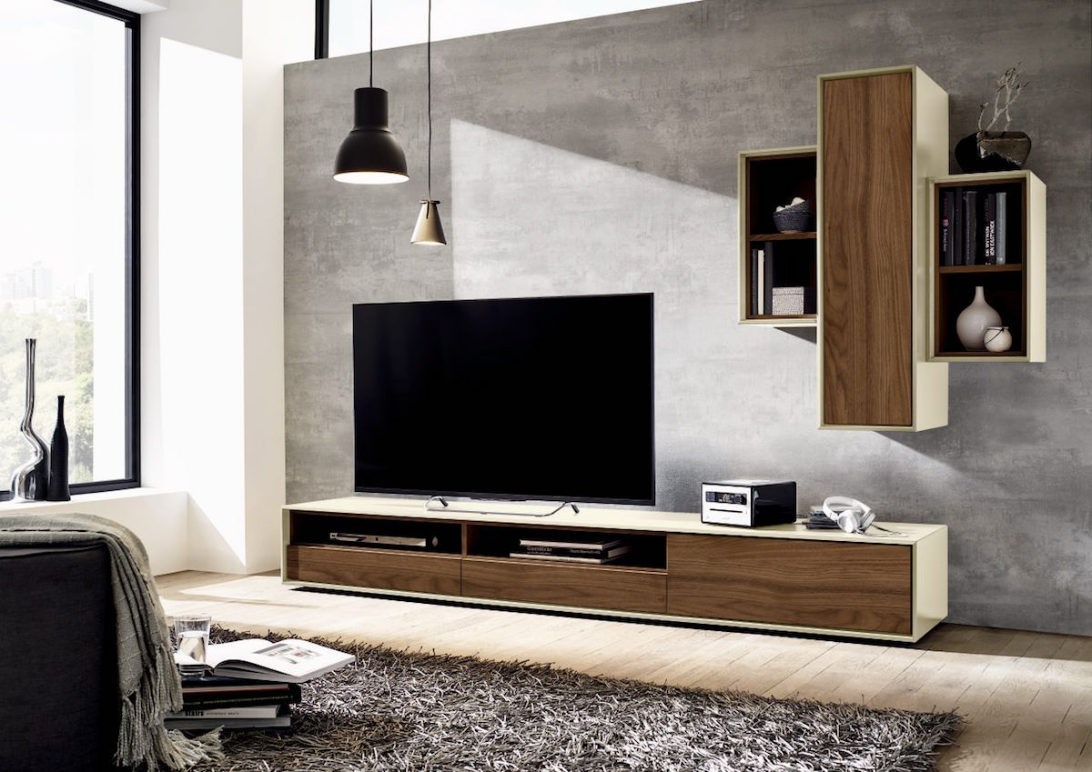 h lsta scopia wand en tv meubel h lsta by interieur paauwe h lsta international retailer. Black Bedroom Furniture Sets. Home Design Ideas