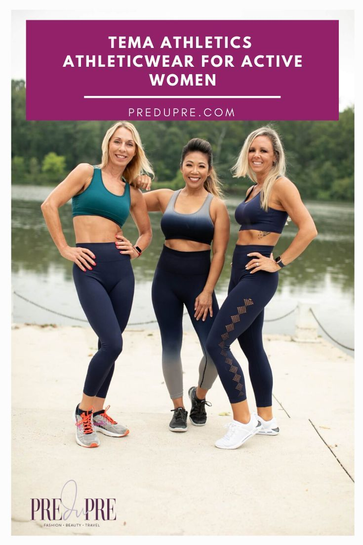 TEMA Athletics is a workout wear that is comfortable, functional, and stylish.  TEMA's mission is to...