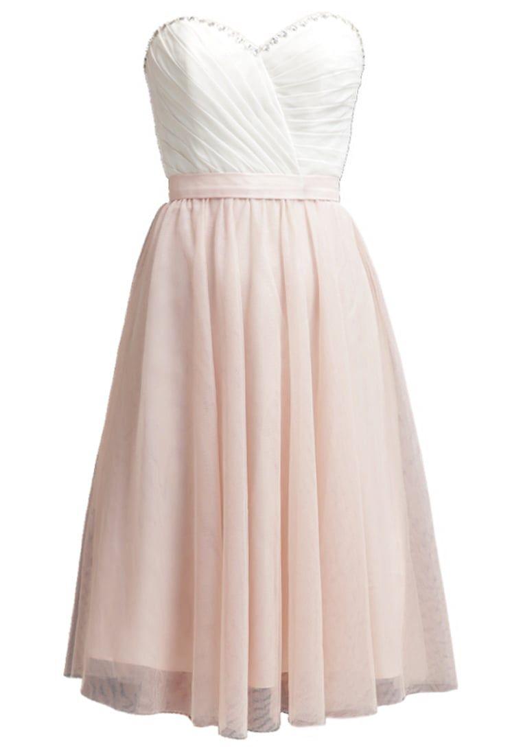 laona robe de soirée - cream white/rose blush - zalando.be