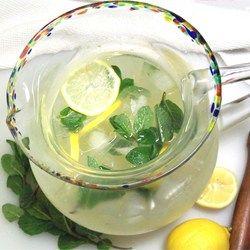 Peppermint Lemonade Allrecipes.com