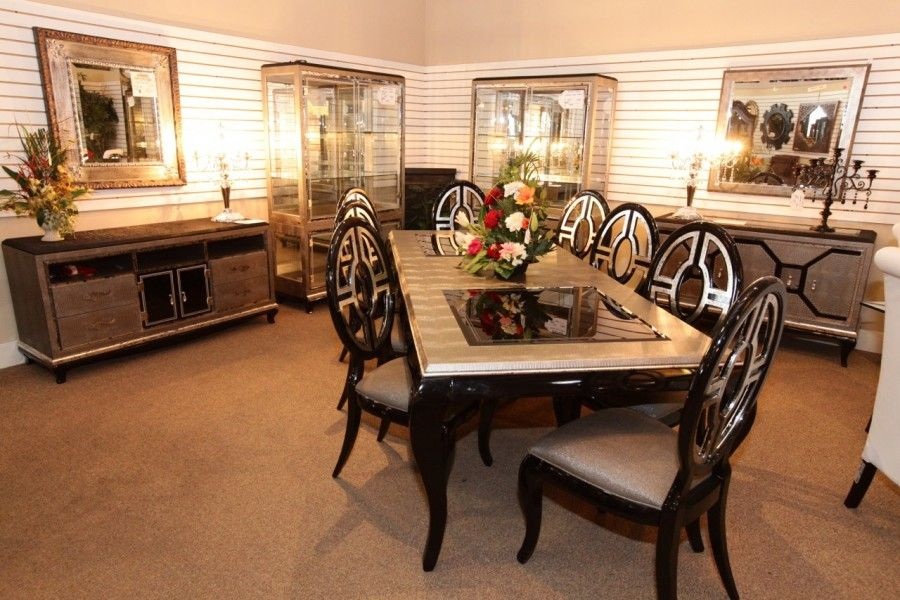 Aico After Eight Dining Table W 8 Chairs