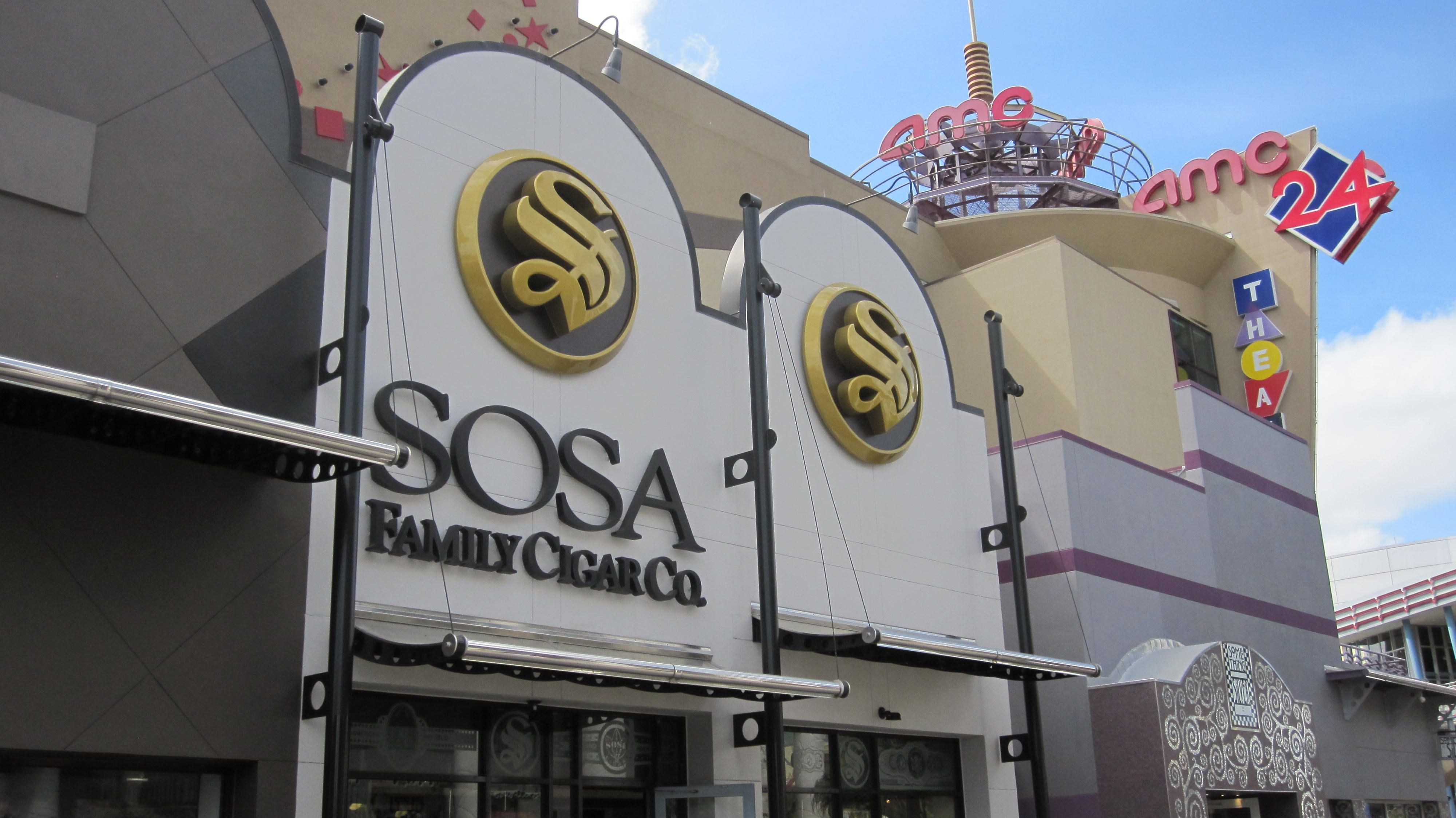 Sosa Cigar Store at Disney World