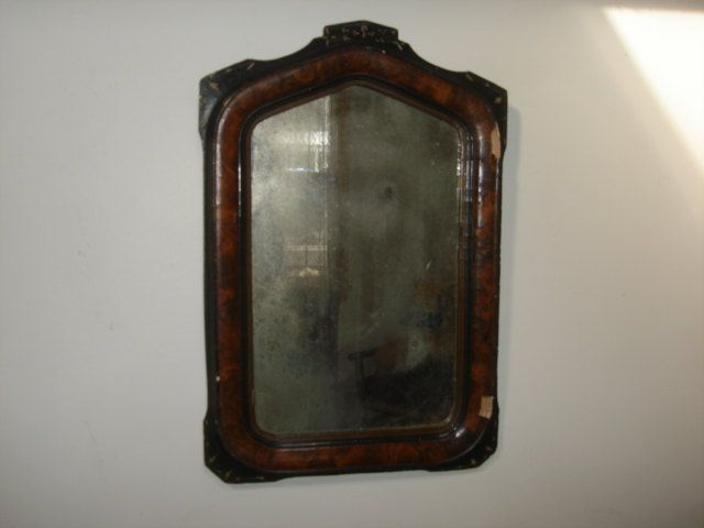 Antique Victorian EASTLAKE Aestheic Mirror Picture Frame ~ Faux Wood ...