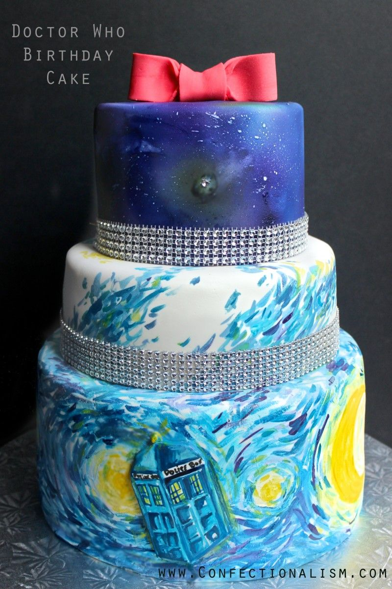 Doctor Who Cake Decorating Project for all you whovians from
