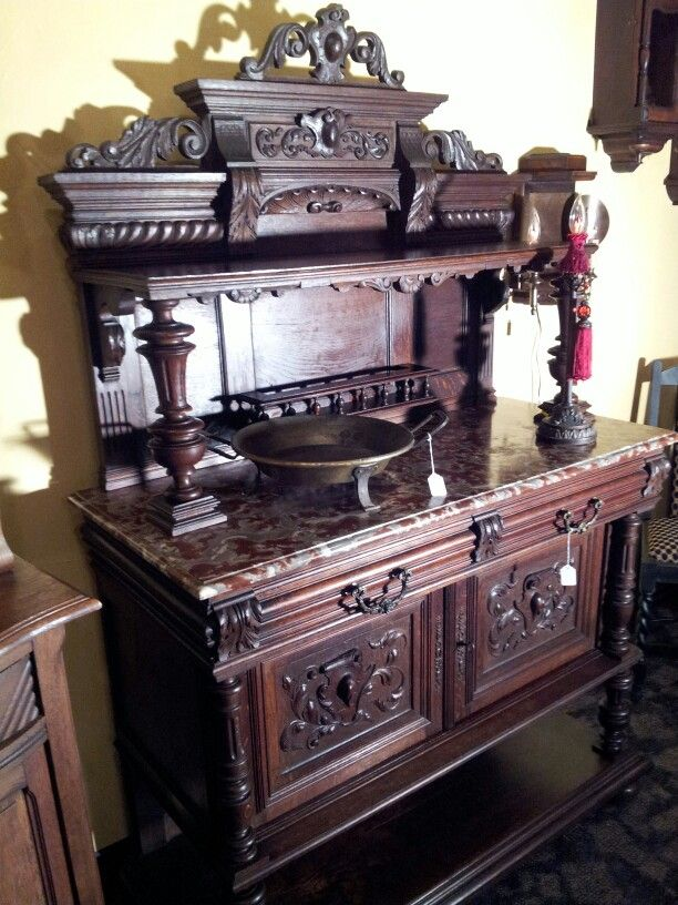 Beautiful French Server with marble 995.00