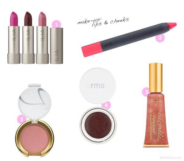 Green Beauty: Make-up (Lips & Cheeks)