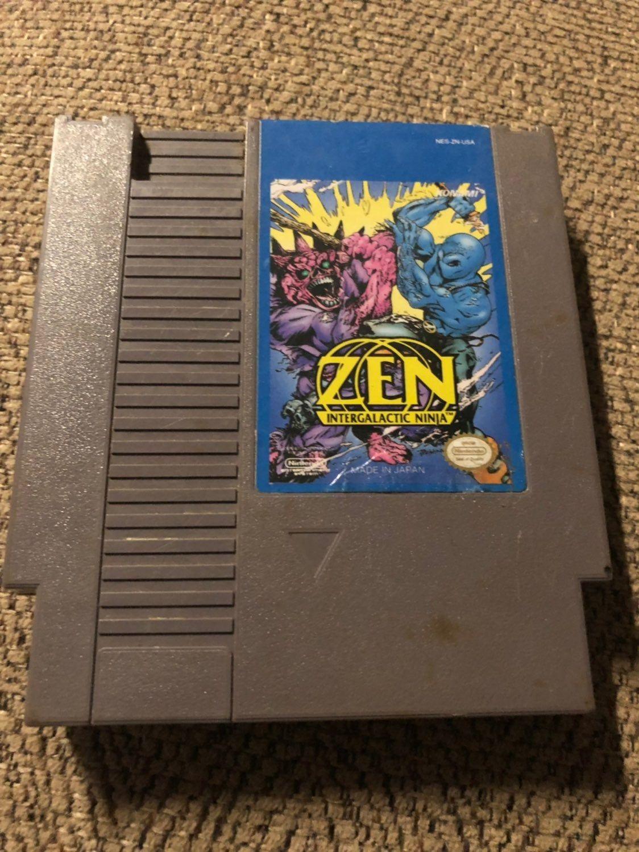 Selling My Copy Of Zen Intergalactic Ninja For The Nes See Pics