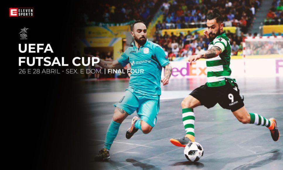 UEFA Futsal Champions League com transmissão na Eleven