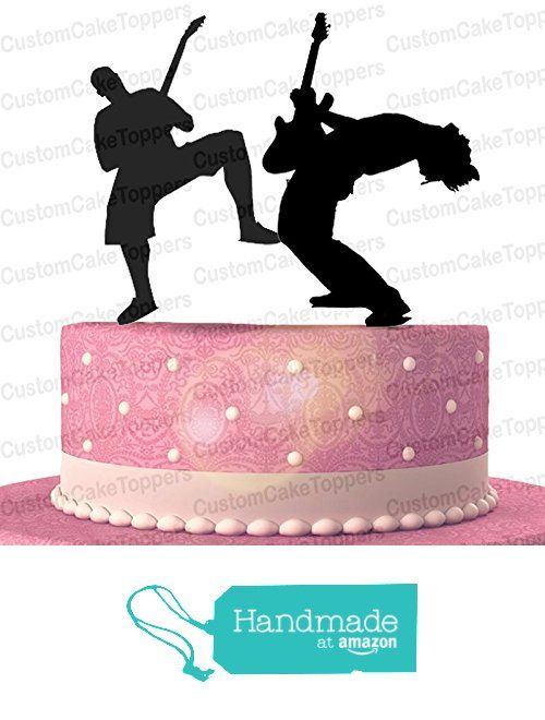 Handmade Guitar Rocker Cake Topper Musical Cake Topper Many