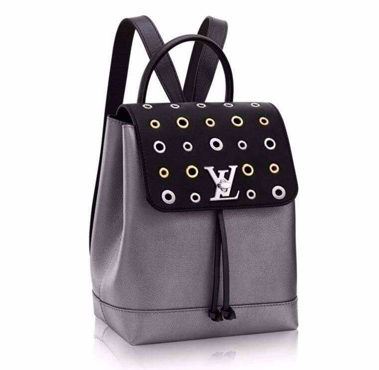 Louis Vuitton Soft Leather Lockme Backpack M42868  9f6dc5c990794