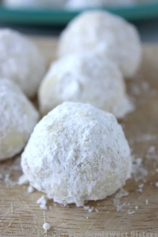 Snowball Cookies (Without Nuts) Recipe Snowball