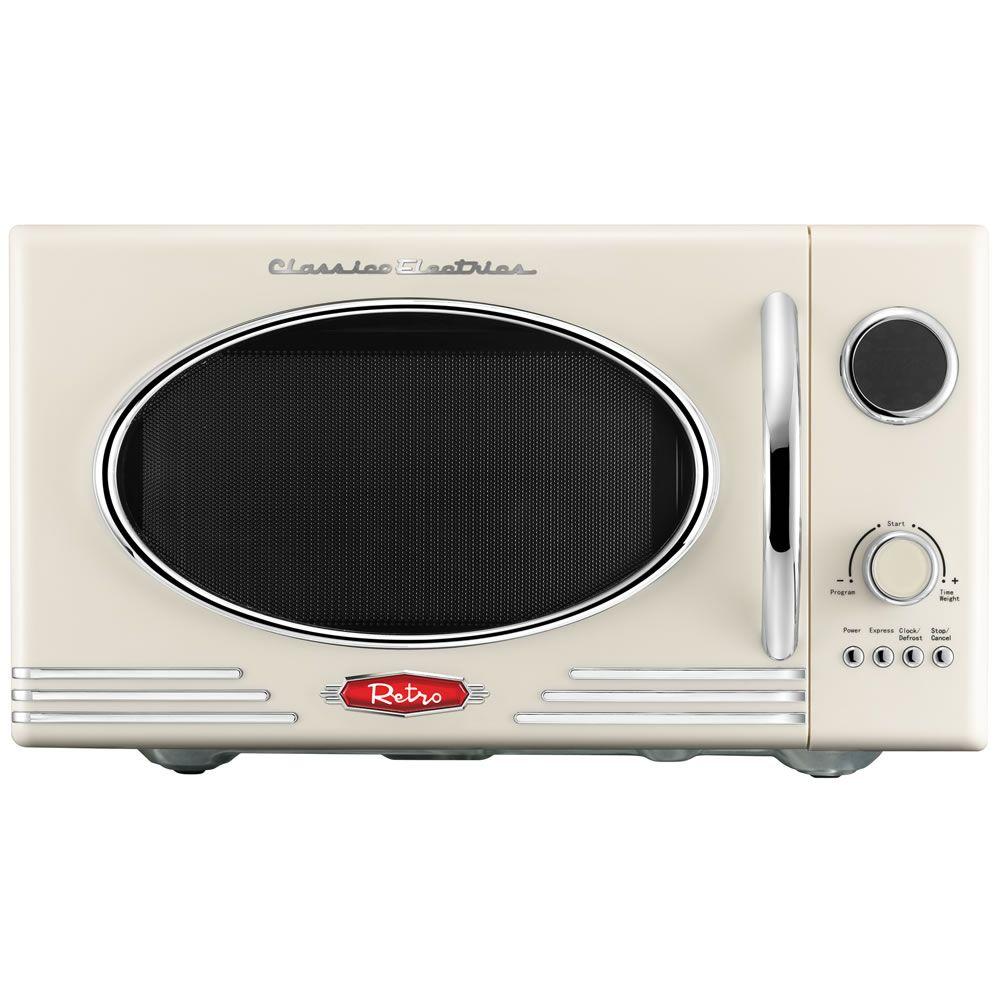 wilko retro microwave cream 23l at kitchen kitchen decor diy kitchen decor. Black Bedroom Furniture Sets. Home Design Ideas